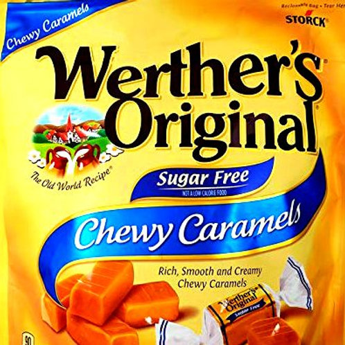 Werther's Sugar Free Chewy Caramel Candy 4 LBs