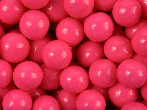 "Bright Pink 1/2"" Wedding Favor Premium Gumballs     Choose Weight   10 - 40 LBs"