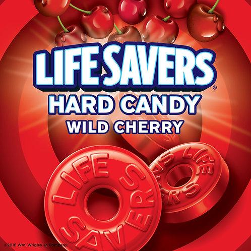 Wild Cherry Lifesavers Hard Candy - You Choose  5 - 30 LBs