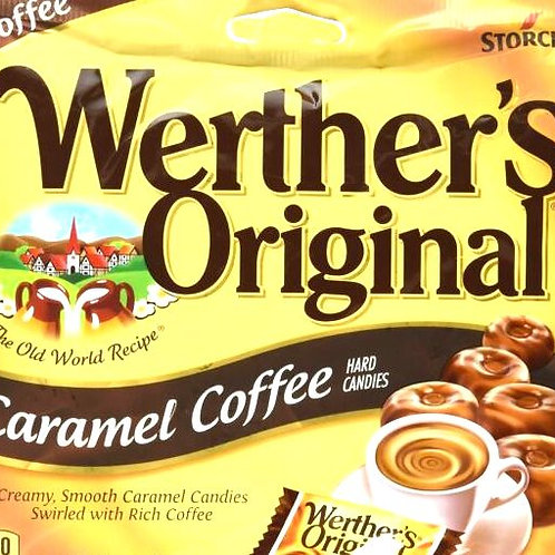 Werther's Caramel Coffee Hard Candy 5 LBs