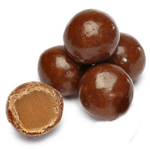 Junior Caramels Creamy Chocolate Bulk Candy - Choose 5 - 40 LBs