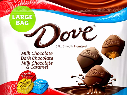 Dove Variety Dark & Milk Chocolate Promises Wrapped candy  2 - 1