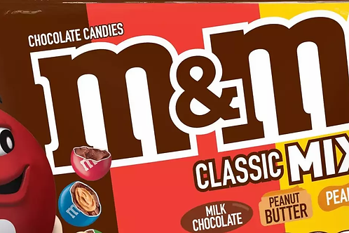 Classic Mix M&Ms Chocolate Candy - Choose weight 6-40 LBs