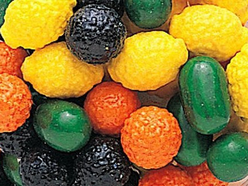 """Fruit Shakers Filled Dubble Bubble 1"""" Gumballs  Choose Weight  4 - 30 LBs"""