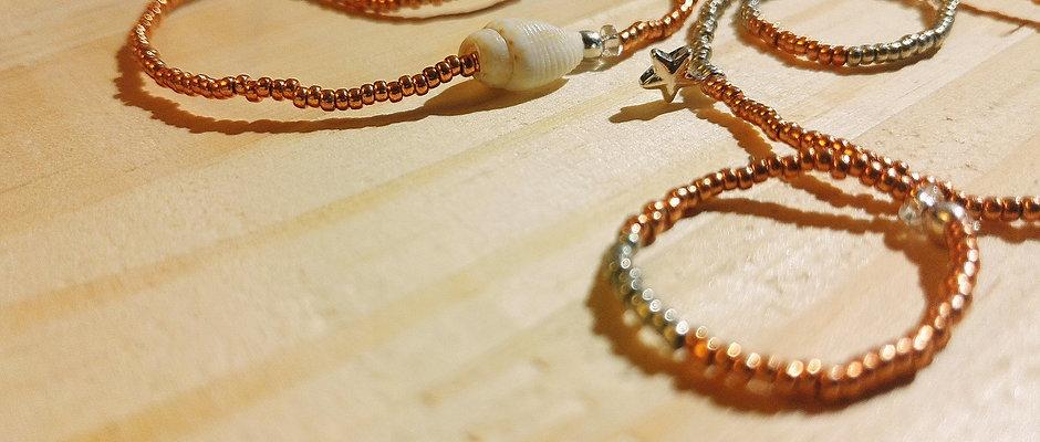 Bagues et bracelets Argent pour BYS