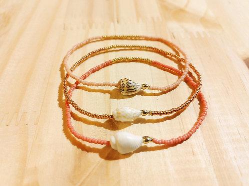 Bracelets LILI COULEUR rose