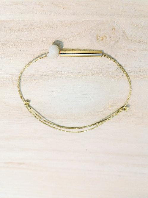 Bracelet DUNE coton paillettes