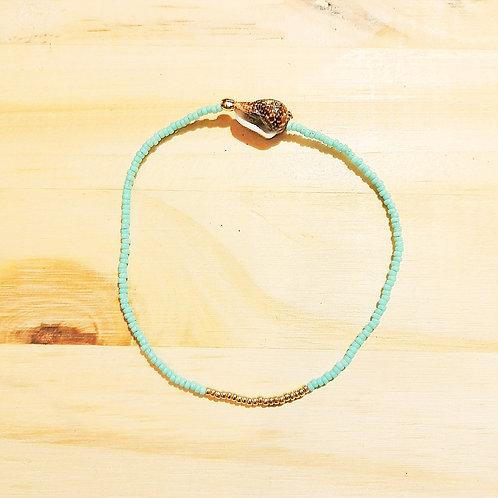 Bracelet LILI TURQUOISE CLAIR Gold