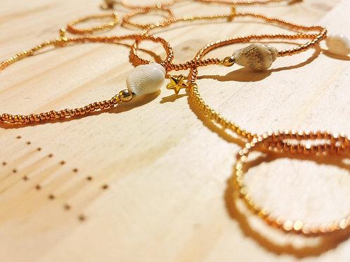 Bagues et Bracelets Or rose pour BYS
