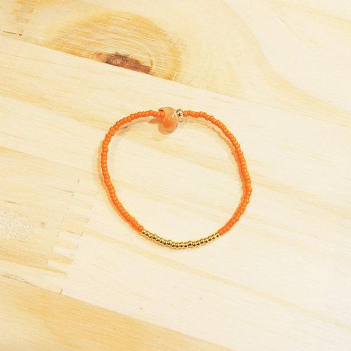 Bracelet LILI KIDS Orange Gold