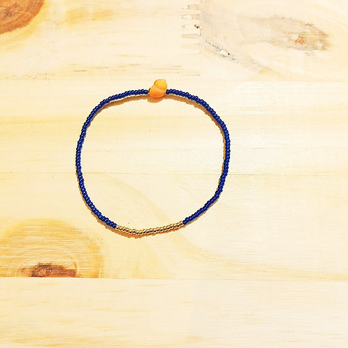 Bracelet LILI KIDS Bleu Gold