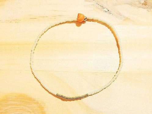 Bracelet LILI KIDS Crème Gold