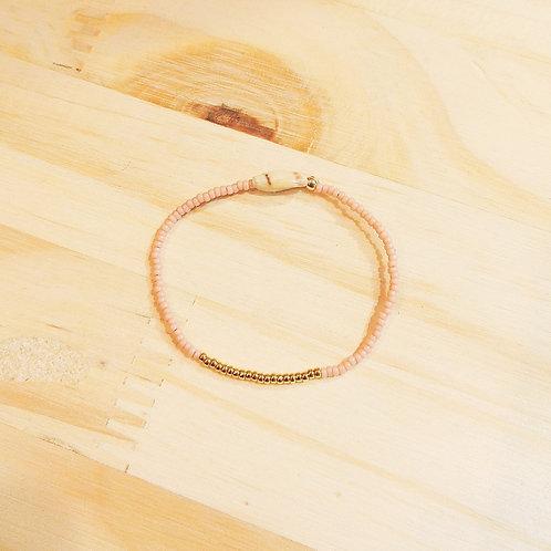 Bracelet LILI KIDS Rose clair Gold