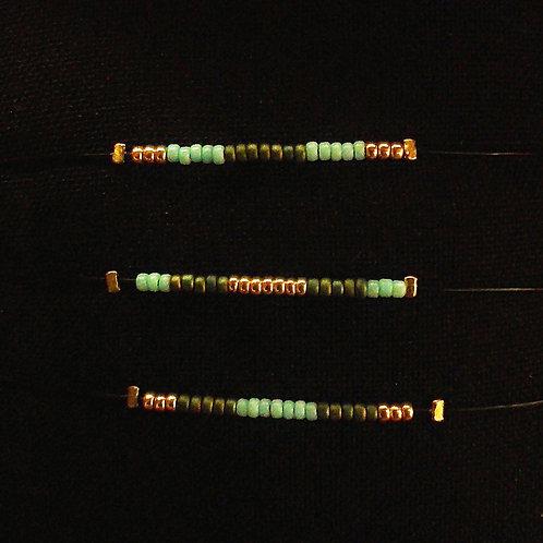 Bracelet 3 COULEURS Black Mamba Original Turquoise clair