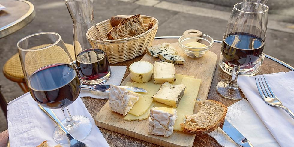 Soirée dégustation de vins, vin-fromage et mini-concert