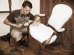tapissier vion ardèche cours tapisserie sièges fauteuils