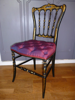"""Chaise """"Chiavari"""" Napoléon III"""