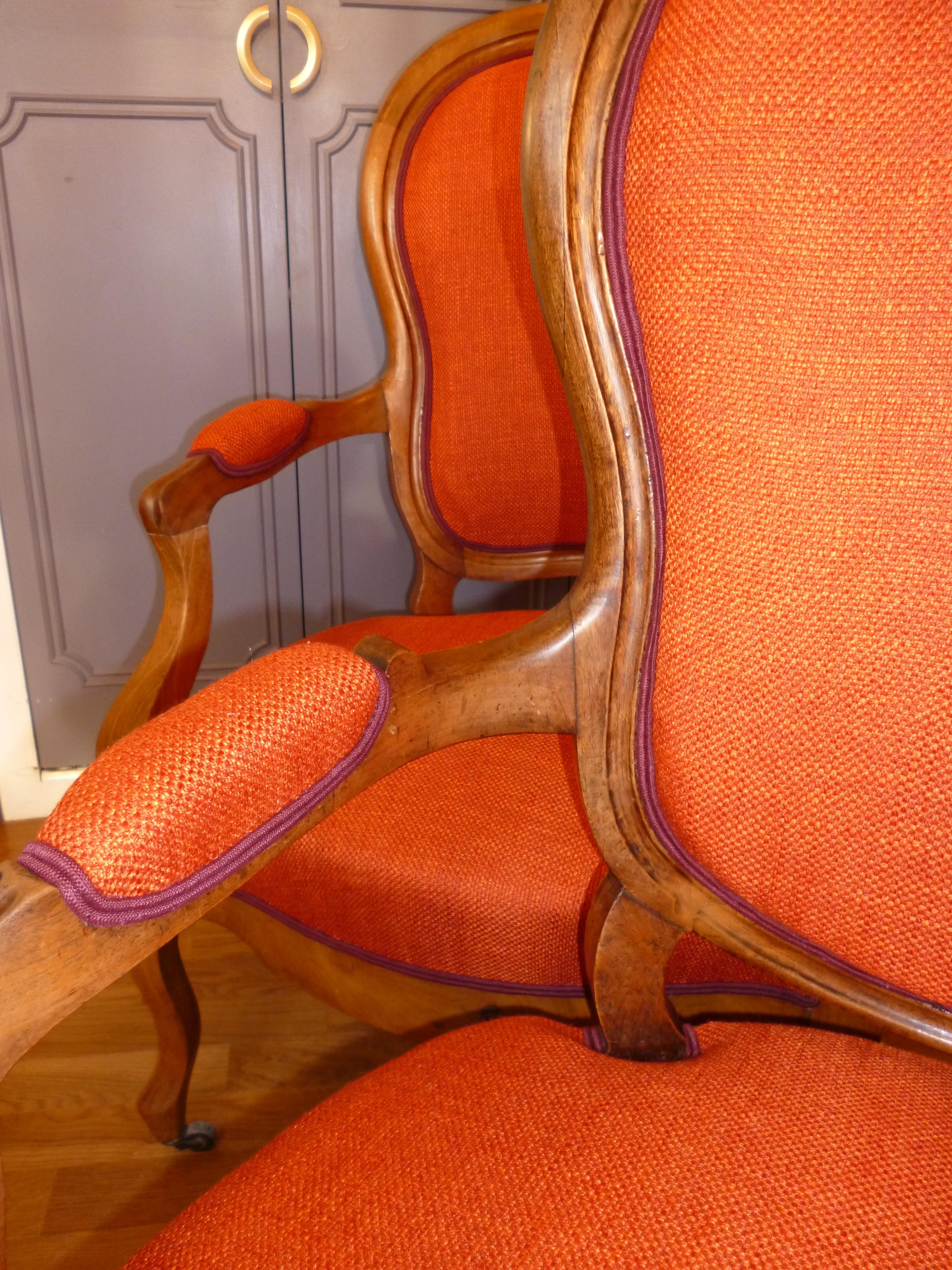 Fauteuils Cabriolets Louis Philippe