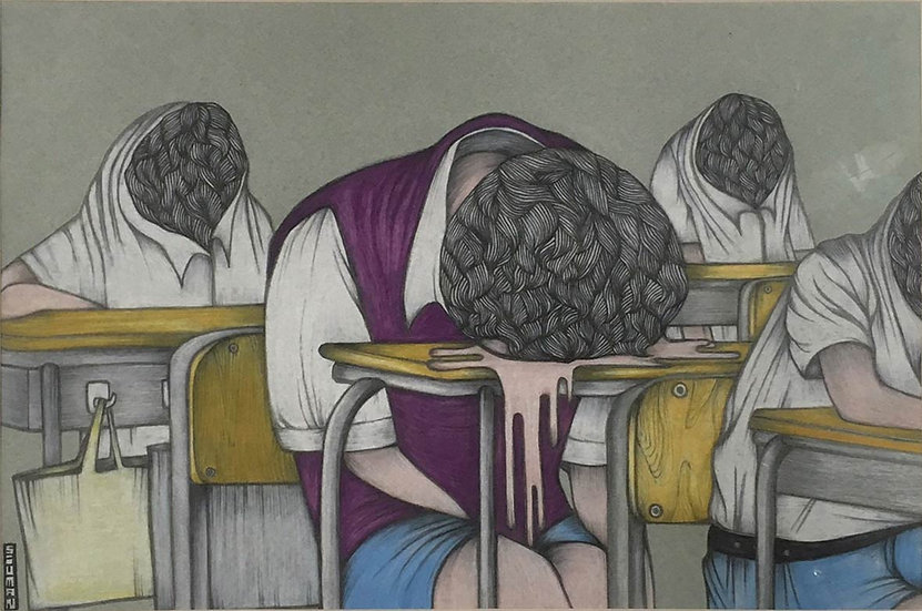 Animal & Faceless Students No.1