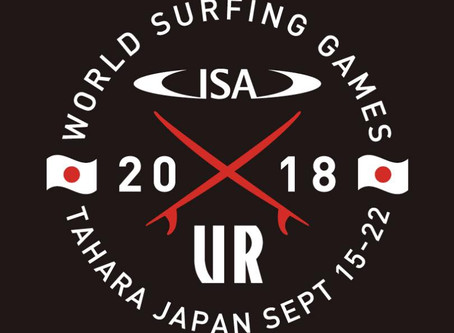 2018 ISA World Surfing Game in Tahara, Japan
