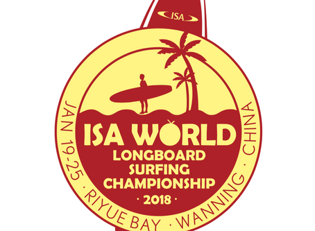 2018 ISA World Longboard Surfing Championship in China