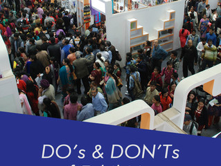 DO's and Don'ts of Exhibiting