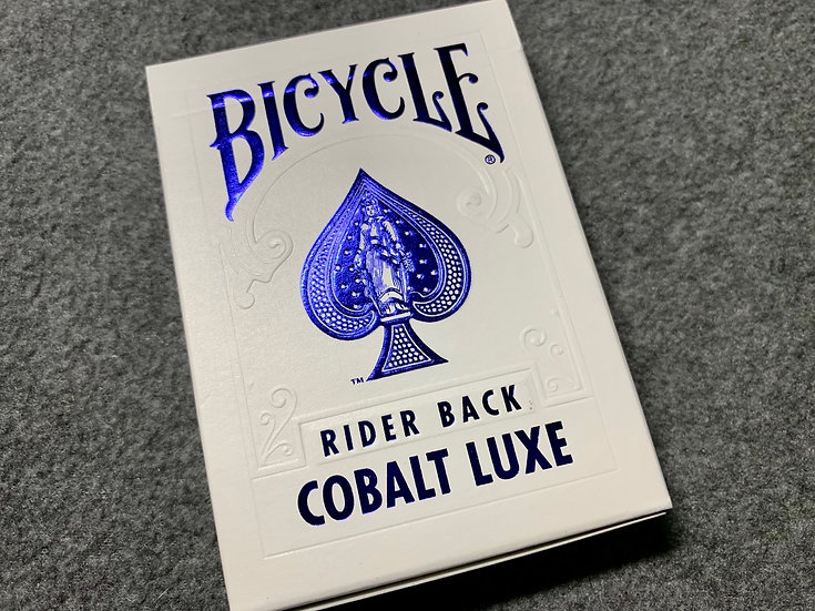 Bicycle MetalLuxe Cobalt Luxe Playing Cards