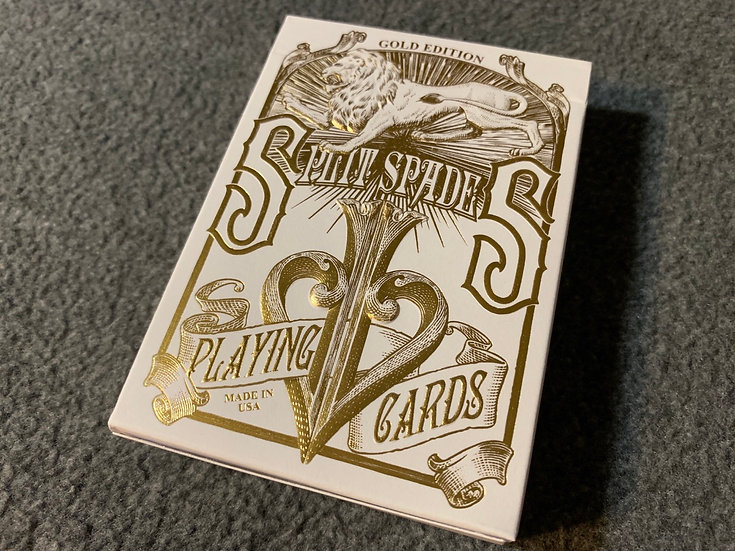 Gold Split Spades - By David Blaine
