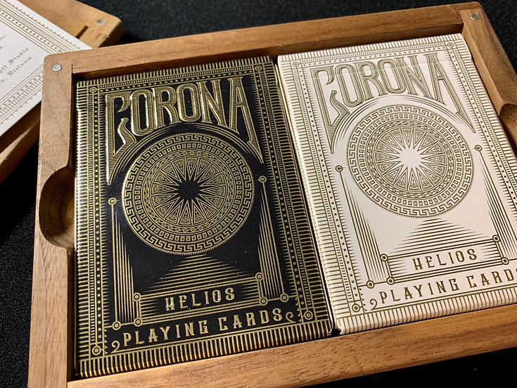 Corona Playing Cards Collector Box (Prototype Set)