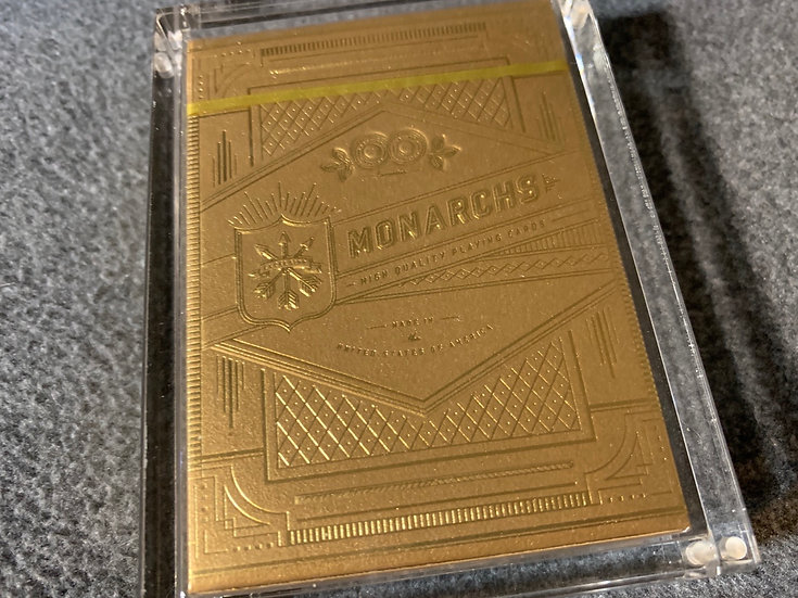 Gold Monarchs - By Theory11