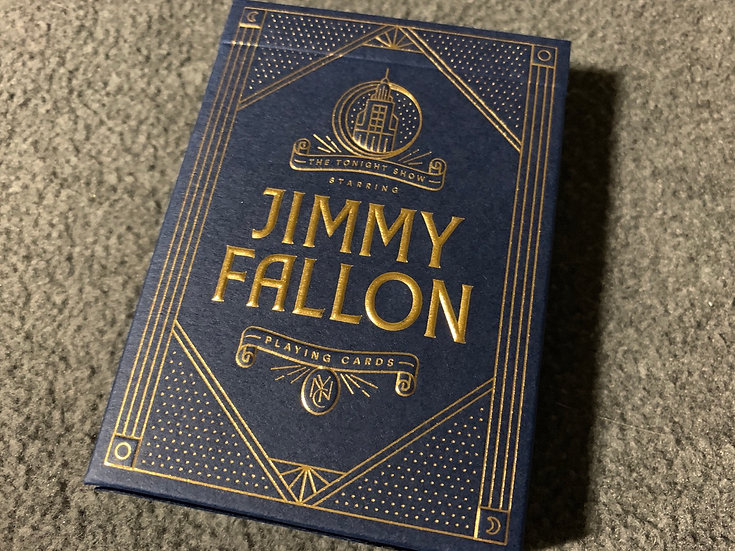 Jimmy Fallon Playing Cards - By Theory11