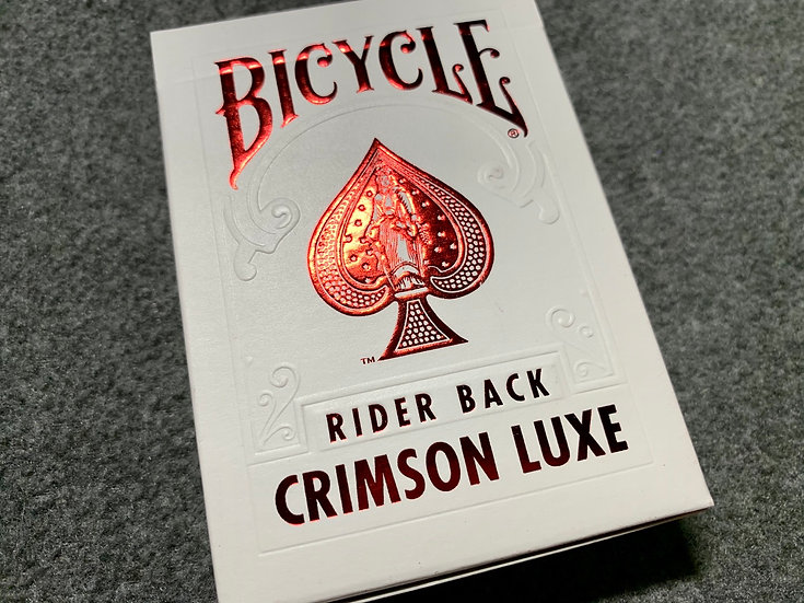 Bicycle MetalLuxe Crimson Luxe