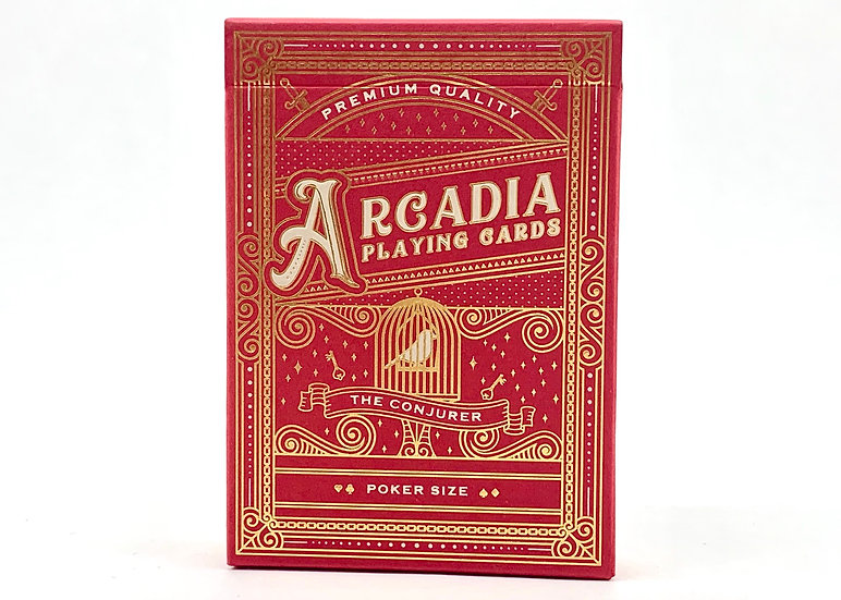 The Conjurer (Red) - Arcadia