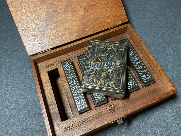 Citizens Playing Cards Collector Box