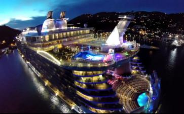 Harmony of the Seas - новый флагман круизной линии Royal Caribbean Int. - встречайте!