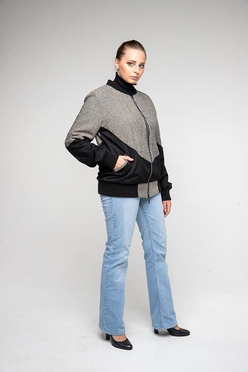 Куртка бомбер женский