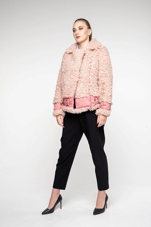 Куртка-косуха из эко-меха