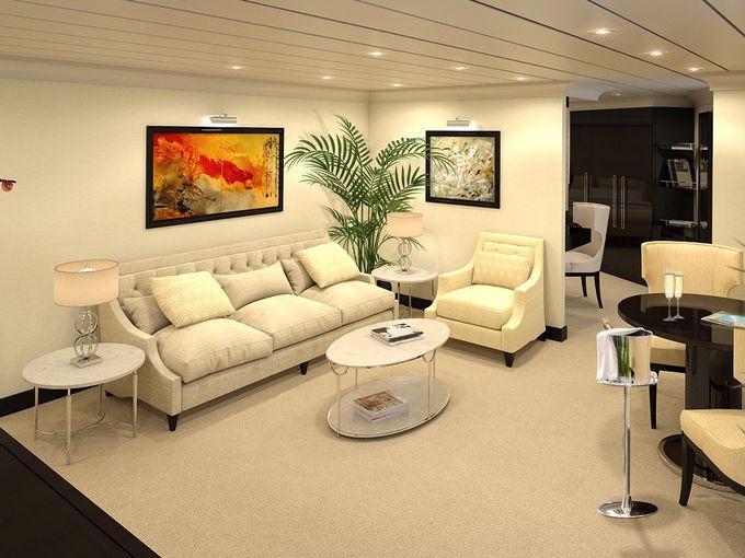 Vista Suite Serena Oceania Cruises