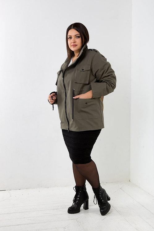 """Куртка женская с рисунком """"Царь"""""""