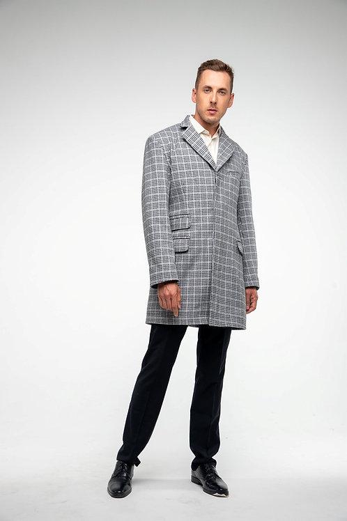 Пальто мужское коверкот