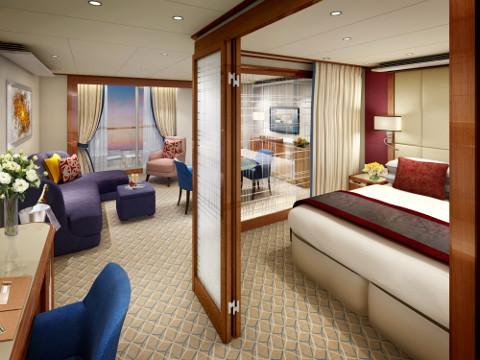 Penthouse suite Seabourn Encore