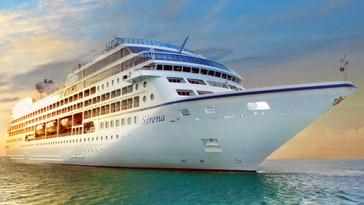 Прекрасная Sirena пополнила флот Oceania Cruises