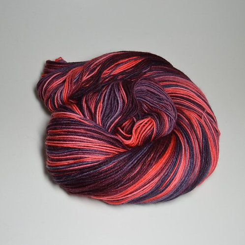 Shadow Rose - OOAK - Lyric Sock