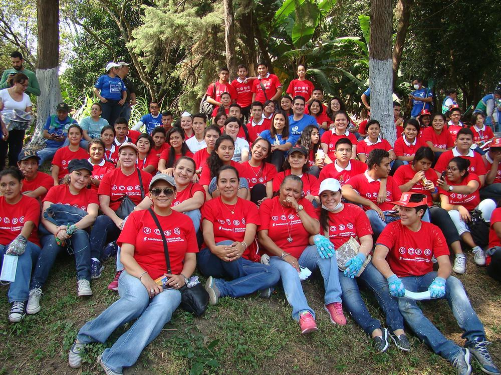 Jornada Nacional de Voluntariado, Scotiabank El Salvador, Santa Tecla 2016.