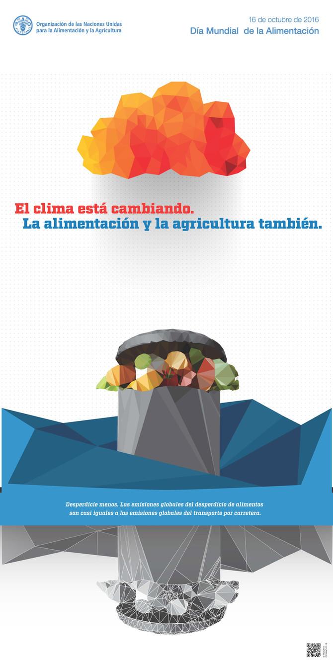 El clima está cambiando. La alimentación y la agricultura también.