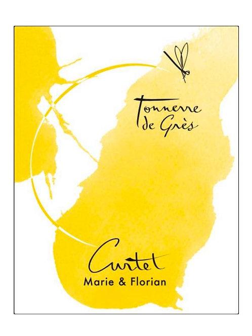 Tonnerre de Grès 2018, Domaine Curtet (Marie et Florian Curtet)