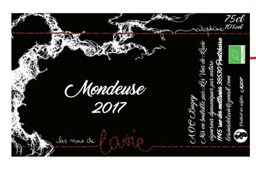Mondeuse 2017, Les Vins de Lavie (Guillaume Lavie)