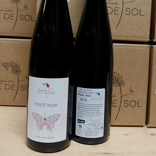 Pinot noir, 2019 Domaine Clé de Sol (Jean et Simon)