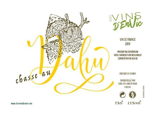 Chasse au Dahu 2018, Des Vins d'Envie (Guillaume Lavie et Maxime Dancoine)
