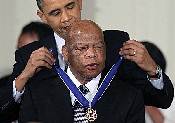 John Lewis-Presidential Medal of Freedom